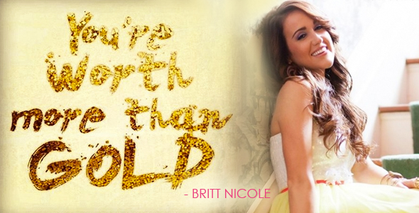 Inspiring ENT Video Pick: Britt Nicole - GOLD